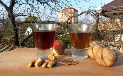 Рецепт настойки на перепонках грецких орехов