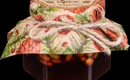 Сибирский кедр. Кедровый орех в сосновом сиропе 100 гр. стекл